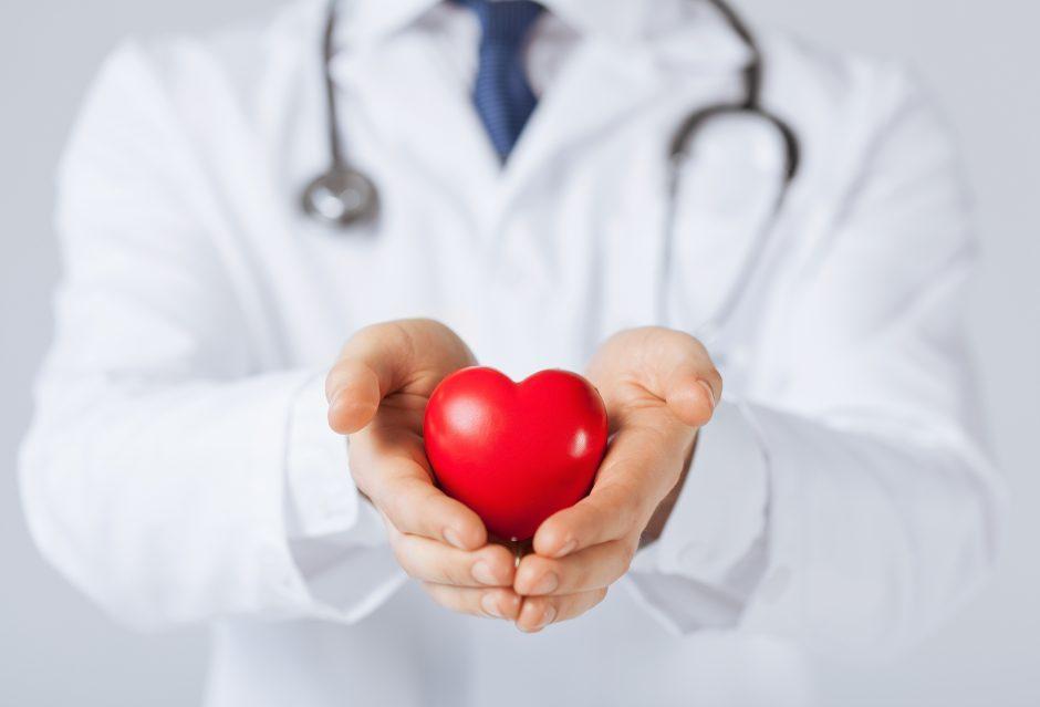 širdies širdies ritmo tiksliniai intervalai)