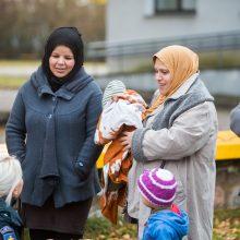Pabėgėlių gyvenimo sąlygas valdžia gerins ES lėšomis