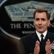 """Pentagonas: visiškai patvirtinus """"Pfizer"""" vakciną, įvedama karių skiepijimo prievolė"""