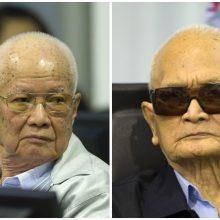"""Kambodžos teismas: mirė raudonųjų khmerų """"brolis Nr. 2"""" Nuon Chea"""