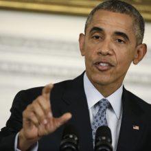 Pranešimai apie B. Obamos gimtadienio šventę su šimtais svečių kelia pasipiktinimą