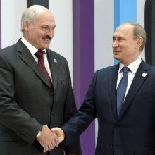 A. Lukašenka nori iki Naujųjų metų su V. Putinu galutinai susitarti dėl integracijos