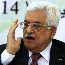 Palestiniečių prezidentas M. Abbasas šaukia skubų vadovybės susitikimą