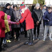 Į klaipėdiečių kiemus atėjo Kalėdų dvasia