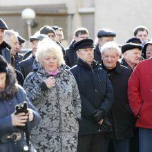 Pagerbtas laivininkystės įkūrėjas A. Ramanauskas: atidengta atminimo lenta