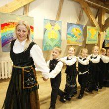 Muziejuje Klaipėdoje – tautodailininkės V.Kiškienės sakralioji tekstilė