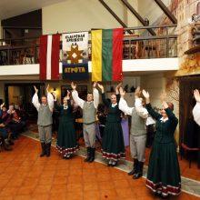 Klaipėdoje iš anksto paminėta Latvijos nepriklausomybės diena