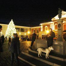 Klaipėdos Kalėdų eglutės įžiebimo šventė! <span style=color:red;>(vaizdo įrašas)</span>