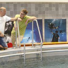 Klaipėdoje – unikali paroda po vandeniu