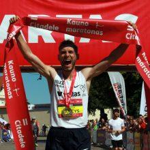 Rekordas: bėgikas R. Kančys Kaune pasiekė lietuviams neregėtą laiką