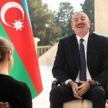 I. Alijevas: niekada nesutiksime su referendumu dėl Kalnų Karabacho
