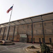 JAV gali uždaryti savo ambasadą Bagdade
