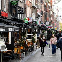 Nyderlanduose nustatyta daugiau kaip 9 tūkst. užsikrėtimo koronavirusu atvejų