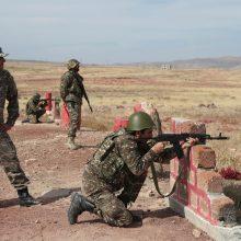 Armėnijos ir Azerbaidžano paliaubos nutrūkos vos įsigaliojusios