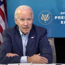 JAV žvalgyba perspėjo J. Bideno komandą dėl Kinijos pastangų daryti įtaką