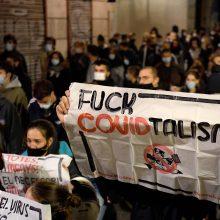 Ispanijoje dėl koronaviruso protrūkio nedarbo lygis išaugo iki 16 proc.
