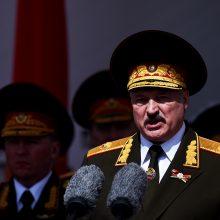 A. Lukašenka grasina prieš protestuotojus pasiųsti kariuomenę
