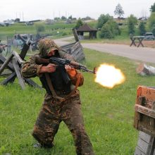 Karines pratybas Minskas vadina pasirengimu atremti agresiją