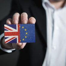 """JK: """"Brexito"""" derybos pasiekė """"sunkų tašką"""""""
