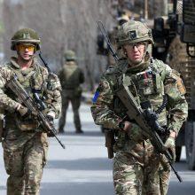 NATO vadovas ragina neskubėti su pajėgų išvedimu iš Afganistano