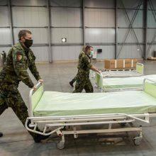 Čekija ir toliau praneša apie milžiniškus infekcijų skaičius