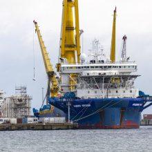 """""""Nord Stream 2"""" projekto realizavimui kilo naujos kliūtys"""