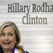 H. Clinton priklausys Rinkikų kolegijai, rinksiančiai JAV prezidentą
