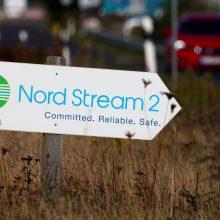 """Vokietija sugalvojo būdą, kaip galėtų apeiti JAV sankcijas dujotiekiui """"Nord Stream 2"""""""