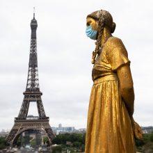 Eifelio bokšte lankytojų skaičius per pandemiją sumažėjo 80 proc.