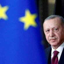 Turkijos prezidentas nori versti naują puslapį santykiuose su ES
