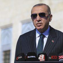 Turkijos prezidentas apkaltino Europą veiksmais, primenančiais nacius