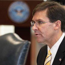 Pentagonas ragina kurti aljansus Kinijos ir Rusijos įtakai atsverti