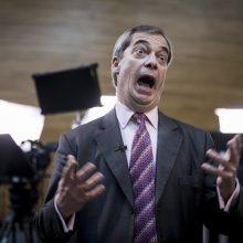 "D. Trumpas: ""Brexito"" partijos lyderis N. Farage'as – ""Europos karalius"""