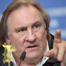 Atnaujinamas tyrimas dėl aktoriaus G. Depardieu įtariamo lytinio smurto