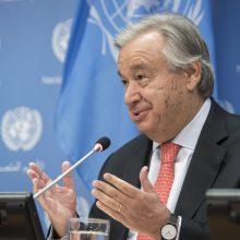 JT generalinis sekretorius pasigenda bendradarbiavimo priimant sprendimus