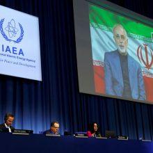 Irano branduolinio susitarimo šalys tikisi JAV sugrįžimo