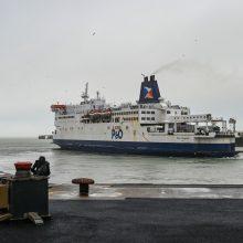 Streikuojantys darbuotojai užblokavo Kalė uostą