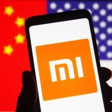"""JAV į """"juodąjį sąrašą"""" įtraukė """"Xiaomi"""" ir kitas Kinijos bendroves"""