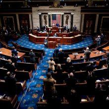 JAV Kongresas atmetė bandymą nepatvirtinti J. Bideno pergalės Pensilvanijoje