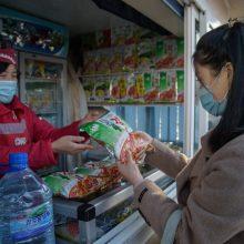 Šiaurės Korėjai uždarius sieną su Kinija, maisto prekės pabrango kelis kartus