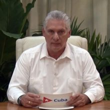 Kubos vadovas siūlo J. Bidenui dialogą