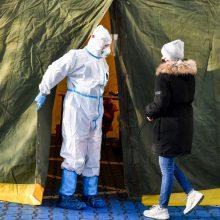 Lenkijoje – 9 tūkst. naujų COVID-19 atvejų, 481 pacientas mirė