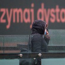 Lenkijoje COVID-19 atvejų skaičius artėja prie 200 tūkst.