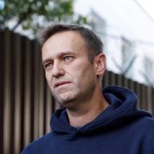 "A. Navalnas: ""Novičioko"" rasta ant mano kūno ir organizme"
