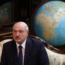 A. Lukašenka apie slaptą savo inauguraciją: neprivalėjome niekam pranešti