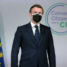 E. Macronas kovą su klimato kaita nori įtvirtinti Prancūzijos konstitucijoje