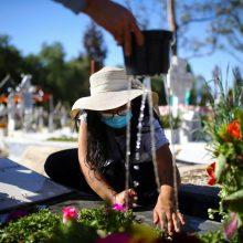 Meksikoje mirčių nuo COVID-19 skaičius perkopė 100 tūkst.
