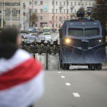 Baltarusija stabdo dialogą su ES žmogaus teisių klausimais
