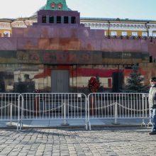 Maskvoje mirčių nuo Covid-19 skaičius perkopė 8 tūkstančius