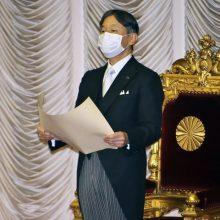 Japonijos imperatoriaus Naujųjų metų sveikinimas atšauktas dėl pandemijos